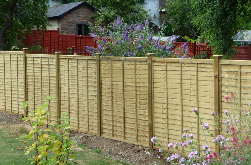 standard panel fencing in surrey